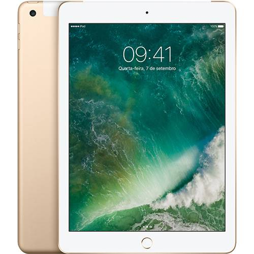 Tablet Apple Ipad Mpg42bz/a Dourado 32gb Wi-fi