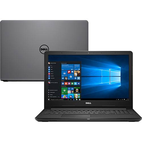 Notebook - Dell I15-3567-a50c I7-7500u 2.70ghz 8gb 2tb Padrão Intel Hd Graphics 520 Windows 10 Inspiron 15,6