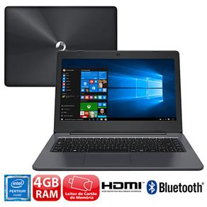 Notebook - Positivo Xc5631 Pentium N3710 1.60ghz 4gb 32gb Ssd Intel Hd Graphics 405 Windows 10 Stilo 14