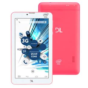 Tablet Dl Tabphone 710 Pro Rosa 8gb 3g